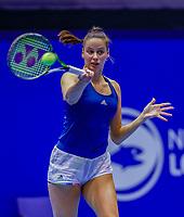 Rotterdam, Netherlands, December 12, 2017, Topsportcentrum, Ned. Loterij NK Tennis, Erica Vogelsang  (NED)<br /> Photo: Tennisimages/Henk Koster