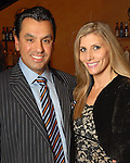 Dr. Devinider Bhatia and his wife Gina at the Una Notte in Italia party at the Intercontinental Houston Hotel Saturday Nov. 07,2009. (Dave Rossman/For the Chronicle)