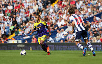 Sunday 01 September 2013<br /> Pictured: Wayne Routledge, Billy Jones.<br /> Re: Barclay's Premier League, West Bromwich Albion v Swansea City FC at The Hawthorns, Birmingham, UK.