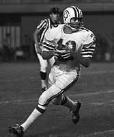 Jim Chasey Montreal Alouettes 1971. Photo Ted Grant