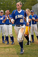 SAN ANTONIO, TX - MAY 2, 2008: The University of the Incarnate Word Cardinals vs. The St. Mary's University Rattlers Softball on Day 2 of the Heartland Conference Softball Tournament at Rattler Field. (Photo by Jeff Huehn)