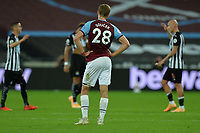 Dejected Tomas Soucek of West Ham United during West Ham United vs Newcastle United, Premier League Football at The London Stadium on 12th September 2020
