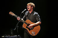 Vincent Vallieres performs during a concert at the Festival d'ete de Quebec in Quebec City Thursday July 10, 2014.
