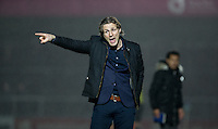 Wycombe Wanderers Manager Gareth Ainsworth during the Sky Bet League 2 match between Wycombe Wanderers and Notts County at Adams Park, High Wycombe, England on 15 December 2015. Photo by Andy Rowland.