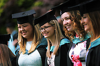 NOT FOR PUBLICATION AT THE REQUEST OF UWTSD, EMAIL FROM ALED LLYWELYN 28 JUNE 2018<br /> Monday 03 July 2017<br /> UWTSD Graduation ceremony at the University of Wales Trinity Saint Davids, Carmarthen Campus, Wales, UK
