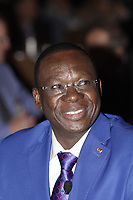 Beyon Luc Adolphe Tiao,<br /> Prime Minister, Burkina Faso<br />  attend the International Economic Forum of the Americas 20th Edition, from June 9-12, 2014 <br /> <br />  Photo : Agence Quebec Presse - Pierre Roussel