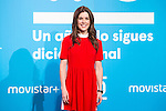 Raquel Sanchez Siva on the first anniversary of broadcast of #0 television network of the Movistar + group in Madrid, Spain. January 30th 2017. (ALTERPHOTOS/Rodrigo Jimenez)