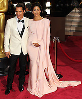 HOLLYWOOD, LOS ANGELES, CA, USA - MARCH 02: Matthew McConaughey, Camila Alves at the 86th Annual Academy Awards held at Dolby Theatre on March 2, 2014 in Hollywood, Los Angeles, California, United States. (Photo by Xavier Collin/Celebrity Monitor)