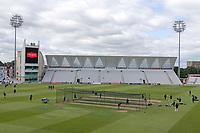 General view of the ground ahead of Nottinghamshire CCC vs Essex CCC, Specsavers County Championship Division 1 Cricket at Trent Bridge on 1st July 2019