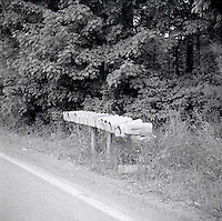 Mailboxes on the side of the road<br />