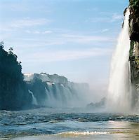 Iguassu Falls, Paraná state, Brazil