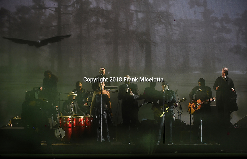 LOS ANGELES - DECEMBER 6: RDR2 performs onstage at the 2018 Game Awards at the Microsoft Theater on December 6, 2018 in Los Angeles, California. (Photo by Frank Micelotta/PictureGroup)