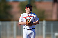 Joshua George during the Under Armour All-America Tournament powered by Baseball Factory on January 19, 2020 at Sloan Park in Mesa, Arizona.  (Zachary Lucy/Four Seam Images)