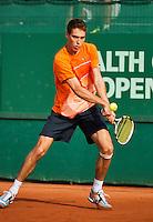 10-07-12, Netherlands, Den Haag, Tennis, ITS, HealthCity Open,   Jerzy Janowicz