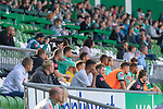 19.09.2020, wohninvest Weserstadion, Bremen, GER,  SV Werder Bremen vs Hertha BSC Berlin, <br /> <br /> <br />  im Bild<br /> <br /> beim aufwaermen vor dem Spiel<br /> Milos Veljkovic (Werder Bremen #13)<br /> Jean Manuel Mbom (Werder Bremen 34)<br /> Pattrick Erras (Werder Bremen Neuzugang 29<br /> Stefanos Kapino (Werder Bremen #27)<br /> Felix Agu (Werder Bremen / Neuzugang 17)<br /> Johannes Eggestein (Werder Bremen #24)<br /> <br /> Foto © nordphoto / Kokenge<br /> <br /> DFL regulations prohibit any use of photographs as image sequences and/or quasi-video.