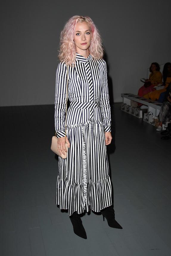 Portia Freeman<br /> front row at the Bora Aksu London Fashion Week SS18 catwalk show, London<br /> <br /> ©Ash Knotek  D3431  14/09/2018