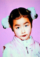 Lu Shan Ni (8), girl, missing on 14 Sep 2002.  Girls in China are increasingly targeted and stolen as there is a shortage of wives as the gender imbalance widens with 120 boys for every 100 girls..PHOTO BY SINOPIX