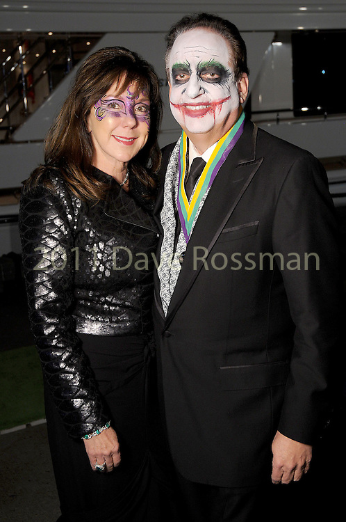 Elizabeth and Alan Stein at the 20th San Luis Salute Friday Feb. 05, 2016.(Dave Rossman photo)
