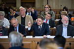 © Joel Goodman - 07973 332324 . 13/07/2016. Manchester , UK . Cllr PAT KARNEY raises his hand for a question . Proceedings at a Manchester City Council meeting , at the Town Hall in Manchester . Photo credit : Joel Goodman