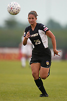 Jaclyn Raveia of the New York Power during a June 26th 3-2 loss to the Carolina Courage at Mitchel Athletic Complex.