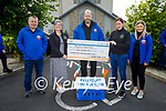 Members of the Ballyduff Vintage Rally presents a cheque for €7,456 to Kerry Cancer Support Group on Sunday in Ballyduff. L to r: Kenneth Allen (Treasurer), Breda Dyland (Kerry Cancer Support Group), Ray Flavin (President Ballyduff Vintage Club), Trish Kelly (Kerry Cancer Support Group) and Aoife Flavin.