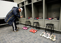 locker room, US Supporters Club. The USMNT tied Argentina, 1-1, at the New Meadowlands Stadium in East Rutherford, NJ.
