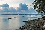 A peaceful late afternoon in Funafuti, Tuvalu