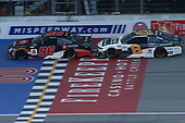 #96: Daniel Suarez, Gaunt Brothers Racing, Toyota Camry Toyota #8: Tyler Reddick, Richard Childress Racing, Chevrolet Camaro