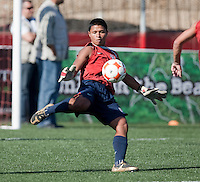 Marlon Duran training before the 2009 CONCACAF Under-17 Championship From April 21-May 2 in Tijuana, Mexico