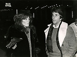 Henry Winkler with his wife taking in a performance of MASS APPEAL at the Booth Theatre  in New York City. November 1980