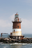 Romer Shoal Lighthouse located in Lower New York Bay