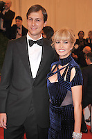 Jared Kushner and Ivanka Trump at the 'Schiaparelli And Prada: Impossible Conversations' Costume Institute Gala at the Metropolitan Museum of Art on May 7, 2012 in New York City. ©mpi03/MediaPunch Inc.