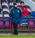 Arbroath manager Allan Moore.