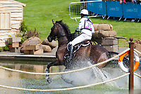 AUS-Andrew Hoy (RUTHERGLEN) 2012 LONDON OLYMPICS (Monday 30 July 2012) EVENTING CROSS COUNTRY: INTERIM-15TH