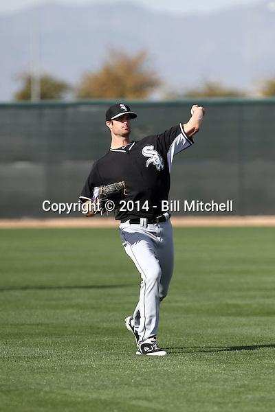Scott Snodgress -Chicago White Sox 2014 spring training (Bill Mitchell)