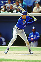 CHICAGO - CIRCA 1994:  Roberto Alomar #12 of the Toronto Blue Jays bats during an MLB game at Comiskey Park in Chicago, Illinois. Alomar played for 17 seasons with 7 different teams was a 12-time All-Star and was inducted in the Baseball Hall of Fame in 2011. (David Durochik / SportPics) --Roberto Alomar