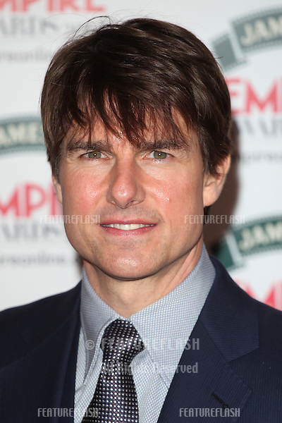 Tom Cruise arriving for the 2014 Empire Film Awards, at the Grosvenor House Hotel, London. 30/03/2014 Picture by: Alexandra Glen / Featureflash