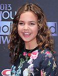 Bailee Madison at The 2013 YOUNG HOLLYWOOD AWARDS at The Broad Stage in Santa Monica, California on August 01,2013                                                                   Copyright 2013Hollywood Press Agency