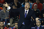 Montakit Fuenlabrada's coach Jota Cuspinera during Eurocup, Top 16, Round 2 match. January 10, 2017. (ALTERPHOTOS/Acero)
