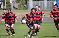 Action from the National Deaf Rugby Championship match between Central and Southern at Petone Recreation Ground in Wellington, New Zealand on Saturday, 3 April 2021. Photo: Dave Lintott / lintottphoto.co.nz