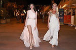 Cannes Film Festival 2021. 74th edition of the 'Festival International du Film de Cannes' under Covid-19 outbreak on 13/07/2021 in Cannes, France. Celebrity Sightings, Greek models and actress
