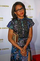 Audrey Pulvar, photocall d'arrivée pour la cérémonie de remise des prix de la Fondation Positive Planet de Jacques Attal, lors du soixante-dixième (70ème) Festival du Film à Cannes, Palm Beach, Cannes, Sud de la France, mercredi 24 mai 2017.