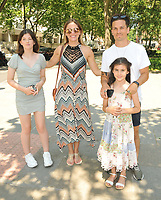 """Aaron Sidwell, Grace Isted and family at the """"Spirit Untamed"""" special screening, Curzon Bloomsbury, Brunswick Centre, Brunswick Square, on Sunday 18 July 2021, in London, England, UK. <br /> CAP/CAN<br /> ©CAN/Capital Pictures"""