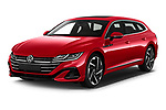 2021 Volkswagen Arteon-SB R-Line 5 Door Wagon Angular Front automotive stock photos of front three quarter view