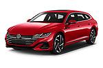 2021 Volkswagen Arteon-SB R-Line 5 Door Wagon Angular Front automotive stock photos of front three quarter view