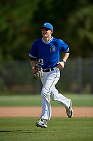 Jack Erickson during the WWBA World Championship at the Roger Dean Complex on October 20, 2018 in Jupiter, Florida.  Jack Erickson is a shortstop from Hudson, Wisconsin who attends Hudson High School.  (Mike Janes/Four Seam Images)
