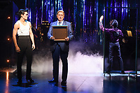 """Jonny Labey and Gerard Horan<br /> appear in """"Strictly Ballroom the musical"""" at the Piccadilly Theatre, London<br /> <br /> ©Ash Knotek  D3396  17/04/2018"""