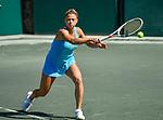 April 5,2018:   Camila Giorgi (ITA) loses to Madison Keys (USA) 6-4, 6-3, at the Volvo Car Open being played at Family Circle Tennis Center in Charleston, South Carolina.  ©Leslie Billman/Tennisclix/CSM