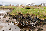 Wk05 Martin Sweeney Cromane Flooding<br /> <br /> Pictured the Sea side of the embankment behind  Martin Sweeney's house at low tide, showing the repairs which were done in 2015.