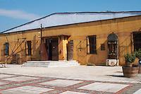 Winery building. Boutari Wineries, Steinmachos, Naoussa, Macedonia, Greece